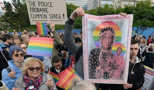 Pride-parade i polen