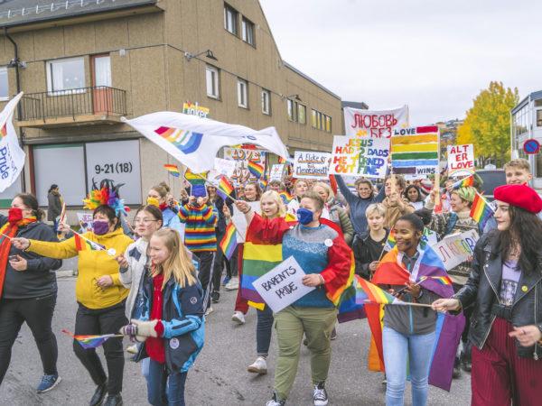 Bilde fra paraden