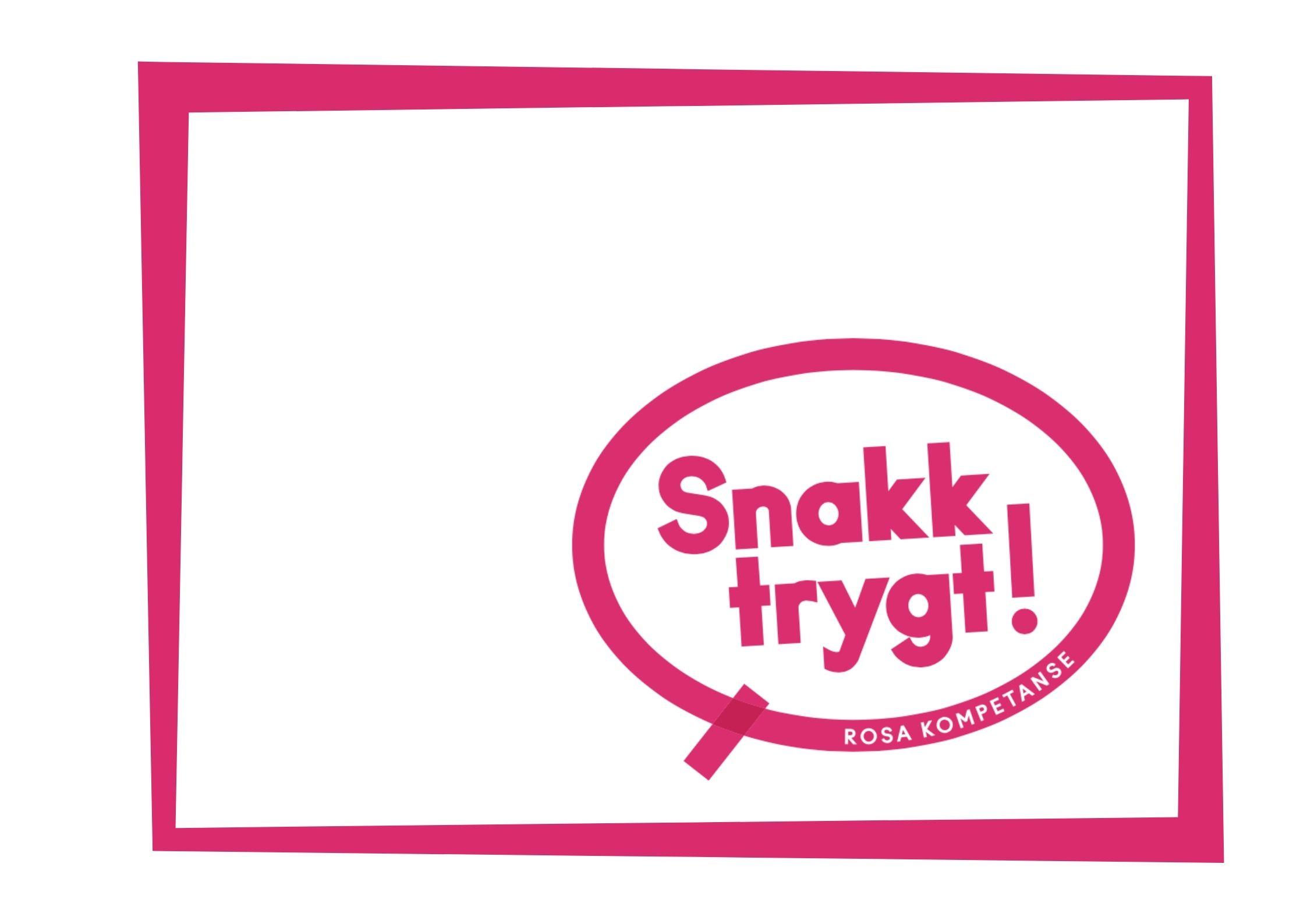 rosa kompetanse-logoen