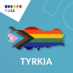 Kart over Tyrkia i pride-farger