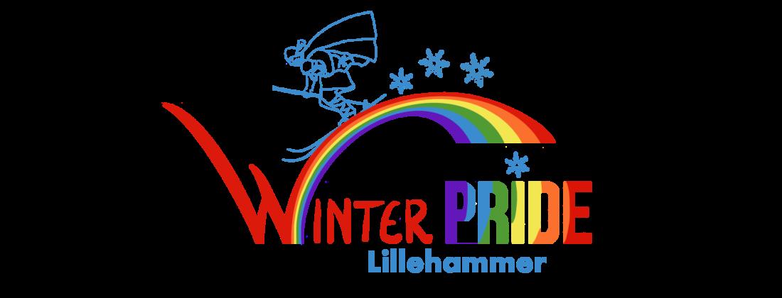 Winter pride Lillehammer logo, design: Hildegunn Hodne